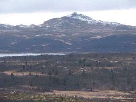 Djuptjernkampen: Dette er en av toppene i årets Kremtoppjakt for DNT Valdres.