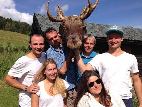 TEAM TROLL TOUR: Gjengen har feriert i Valdres de 20 siste åra, og klarer ikke se for seg en annen måte å bruke sommeren på.