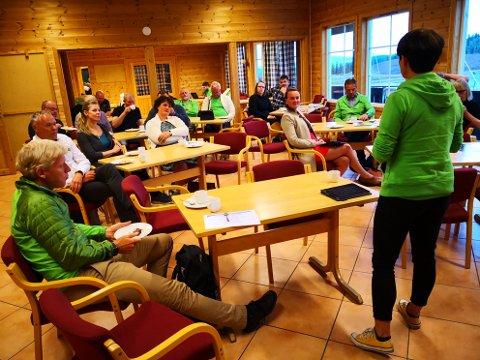 Senterpartiet hadde møte på Beitostølen der det vart drøfta korleis aktivitetar skaper ringverknader for reiseliv og lokalsamfunn.