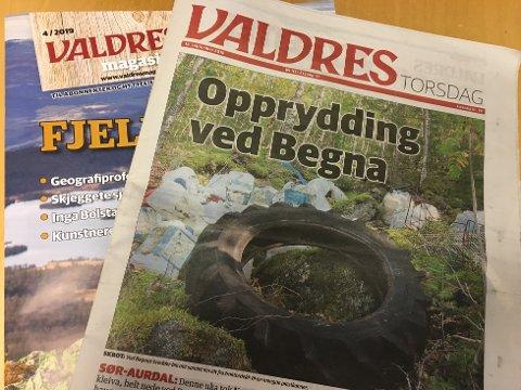 Aviser: Gudbrandsdølen Dagningen (GD) er størst i Oppland med 22.258 abonnenter, mens Oppland Arbeiderblad (OA) har 20.211. Avisa Valdres øker også, og har 8.530. Det er for øvrig GD som eier Valdres Media AS.