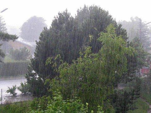 Rekord:Fleire av målestasjonane vi fylgjer i Valdres hadde rekordmykje nedbør.