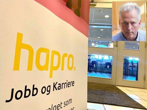 Har tapt anbud: Adm. dir. Knut Nordby i Hapro jobb og karriere er overrasket og skuffet over at bedriftens avtale med Nav Innlandet ikke blir videreført. Foto: Bjørn Bjørkli / Jørn Haakenstad