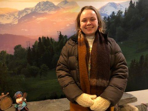 Bli med: – Vi skal ha en lysmarkering på Skiferplassen tirsdag og vi oppfordrer alle til å bli med, sier leder for Valdres Natur og Ungdom, Sina-Alida Van Veen-Skattebu.