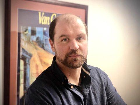 Fredrik Holte Breien, prosjektleder for Bredbånd i Valdres, er glad for at en viktig brikke er på plass.