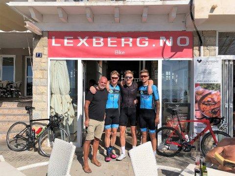 Rune Lexberg driver Lexberg.no i Palma på Mallorca, der han driver med rom- og sykkelutleie.