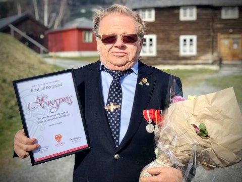 FORTJENT HEDER: Kristian Bergsund er et oppslagsverk når det gjelder historie generelt og krigshistorie spesielt, en ressurs som Valdres er veldig stolte av.