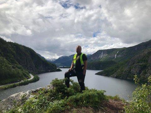 Daglig leder: Odd Helge Brugrand forteller om økt pågang til Kongevegen denne sesongen.