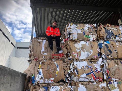 Søppelberg: Hallgrim Berg er ny daglig leder på VKR.