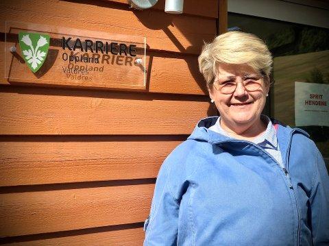 Inger-Line Haraldsen er daglig leder ved Karriere Oppland Valdres og ønsker å høre fra de som trenger et ekstra løft eller råd for videre karriere i disse koronatider.