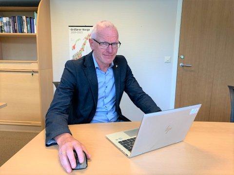 TYDELIG: Kommunedirektør Martin Sæbu i Nord-Aurdal har klare forventninger til den nye regjeringa.