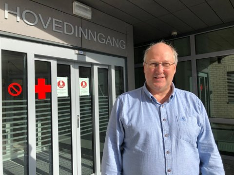 Kommuneoverlege Tor Inge Kristianslund i Etnedal.