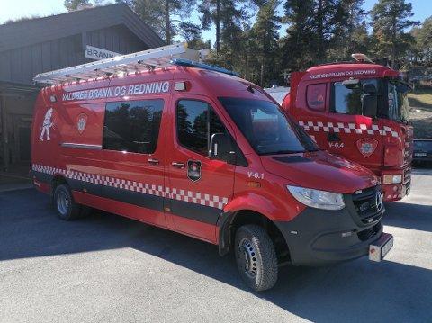 BRANN I AVFALLSKONTEINER: Mannskaper fra Røn rykket mandag ettermiddag ut til konteinerbrann på Vaset. Illustrasjonsfoto.