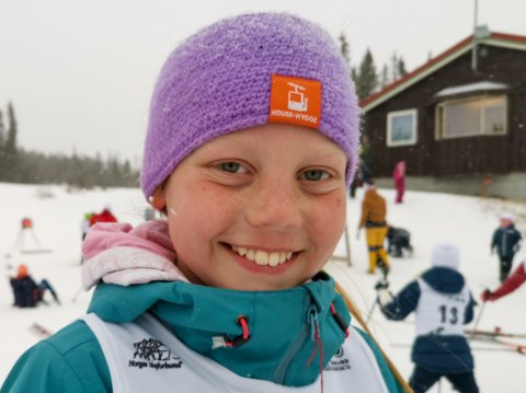 Fornøyd: Ingeborg Aabol var godt fornøyd med klubbrennet.