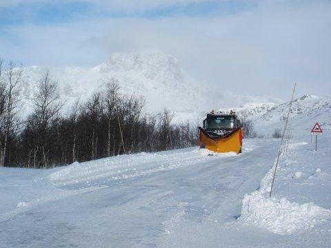 Ved Garli: Vegen over Valdresflye kan være utfordrende vinterstid, men nå blir det permanent brøyting til Bygdin i juleferien og vinterferien.