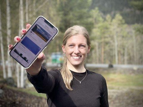Finnnye turmål: Daglig leder i Valdres friluftsråd, Ina Syversen, håper mange finner inspirasjon til turer i nærmiljøet, i nabokommunen eller andre steder i Valdres i den oppdaterte appen UT.no.