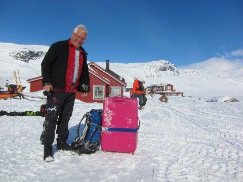 På Eidsbugarden: Birger klar for feiring av 200-årsjubileet for Vinje på Fondsbu i april 2018.