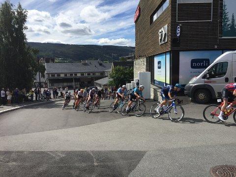 Gjennom Fagernes: Hele 287 sykkelryttere fordelt på 50 lag kommer for å være med på sykkelrittet neste uke.