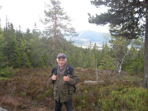 UTTRYKKFRASKOGEN:Knut Røsjø i sitt rette element.