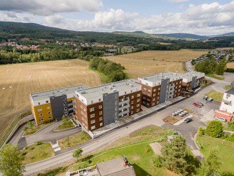 UTVIDER OMRÅDET: Nærmiljøsenter og flere boliger kommer i tilknytning til det ferdigstilte prosjektet.