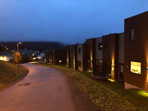 ULOVLIGARBEIDSKRAFT:Utbyggerne av rekkehusa i Gudrun Moestuens vei i Kruttverket brukte en underentreprenør som nå er tiltalt i Oslo tingrett.