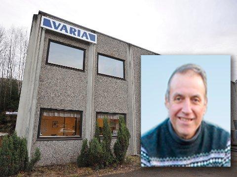 VOKSESMERTER: Varia Mekaniske verksted AS i Industriveien på Skytta må ansette flere, og trenger å bygge på lokalene. Arbeidstilsynet sier net til utvidelse, med mindre det også bygges med fullverdig heis.