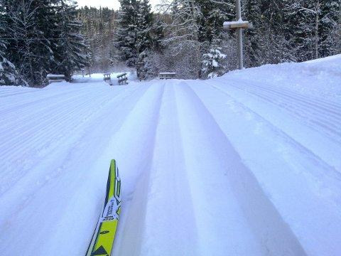 Ønsker du slike skiløyper i vinter, må Nittedal kommune trolig bla opp med penger til ny løypemaskin (Arkivfoto).