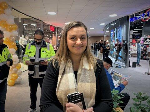 Hanne Strandvahl (25) er storfornøyd med hvordan det nye Mosenteret har blitt.