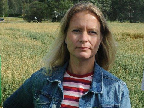 IKKE KONKRET NOK: Ida Eliseussen (Sp) var en av politikerne som savnet litt mer konkrete tiltak i skolesektorens kvalitetsplan de neste årene.