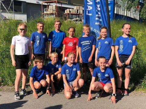 SKILØPERE I JOGGESKO: Skiløperne i Hakadal IL holder formen ved like sommerstid, blant annet gjennom en egen versjon av Varingskollstafetten.
