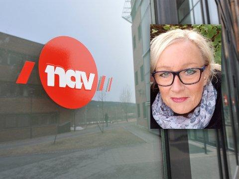 HAR DISKUTERT FORSLAGET: Leder for brukerutvalget tilknyttet Nav Nittedal, Jane Halvorsen, forteller at utvalget stiller seg kritisk til forslaget.