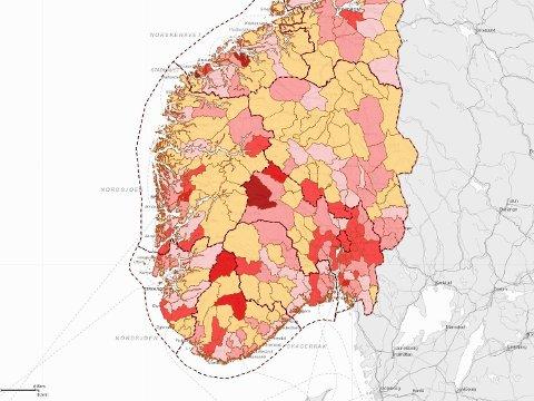 BEKYMRET FOR HØSTEN: - Det er usikkerhet om utviklingen gjennom resten av høsten og vinteren. Det kaldere været og mulig svekkelse av immunitet over tid kan gi viruset bedre forhold for smittespredning, varslet Folkehelseinstituttet i sin siste ukerapport (uke 41). Foto: (Beredskapsetaten i Oslo kommune)