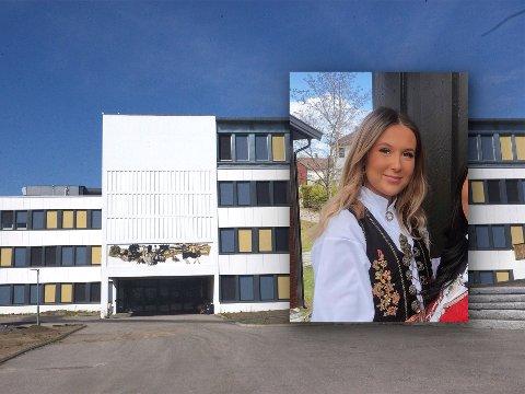 POSITIV TIL MASSETEST: Visepresident for russen i Nittedal, Oline Lersveen Felland, synes det er bra at det blir en massetest av elever ved tredje trinn på Bjertnes.