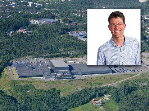 GODT RESULTAT: Konstituert kommunikasjonsdirektør i Arcus-gruppen, Per Bjørkum, kan fortelle om et godt resultat for spritprodusenten på Gjelleråsen.