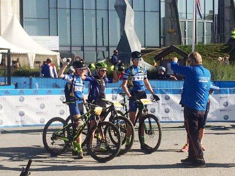 Erlend Vegstø har hatt en veldig bra sesong på sykkelsetet. 15-åringen toppet den med å sette samtlige konkurrenter i sin årsklasse på plass i Ungdoms-Birken.