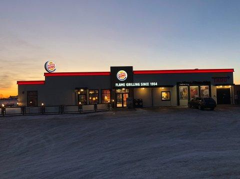 BYGGE NYTT: Burger King håper å bygge nytt ved avkjøringen til Vestby nord. Da blir det en restaurant ganske identisk med denne.
