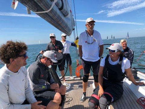 Flott start: Team Santa med soningen Claus Landmark ved roret har fått en meget god start på årets VM i offshore