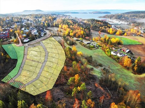 BYGGESTART: Nå starter byggingen av tomter i Labuåsen.