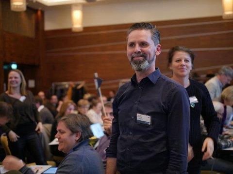 IKKE TIGGEFORBUD: Arjo van Genderen (V) fikk bred støtte for sitt forslag om at det ikke skal være forbudt med tigging i Vestby.