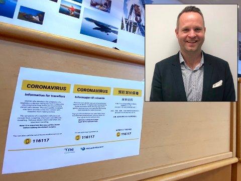MINDRE TURISTER: Som en følge av Loronaviruset er det ingen kinesiske turister som kommer innom Drøbak, forteller turistsjefen.