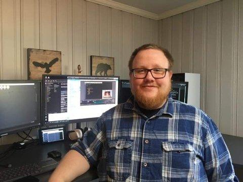 Johnny Gulowsen er IT-kontakt på Ås videregående skole og ildsjelen bak Kodeklubben i Son og Vestby.