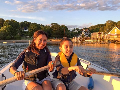 Carolina Gonzalez får ikke startet iskiosk i Hvitsten i sommer, men har planer om å prøve igjen neste år.