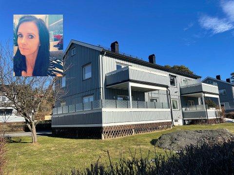 MARERITT: Vibeke Øritsland (innfelt) kjøpte leilighet, og regnet med å pusse opp badet etterhvert. Så begynte vannet å dryppe ned i kjelleren. Da de åpnet konstruksjonen, var ikke den ferske huskjøperen i tvil om at her måtte det ha rent lenge.