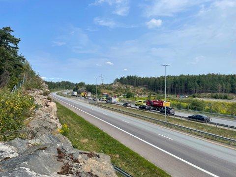 KØER: Det meldes om saktegående køer på E6 i nordgående retning mellom Mosseporten og avkjøring til Sonsveien mandag ved 11:30-tiden.