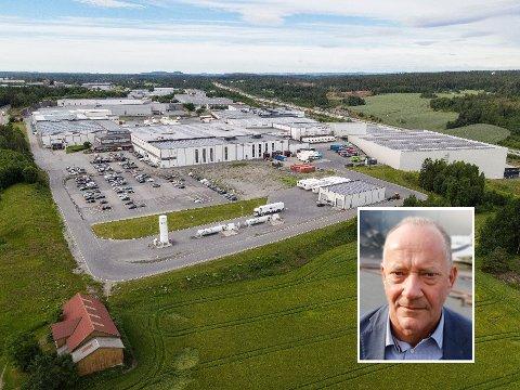 MILLIARDKONTRAKT: Asko har tapt en storkontrakt som ifølge GRESS Gruppen har en samlet verdi på 3-4 milliarder kroner.  Tore Bekken, administrerende direktør i Asko Norge ( innfelt).