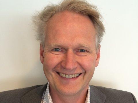 BANKSJEF: Egil Årvik er banksjef Danske Bank i Vestfold.