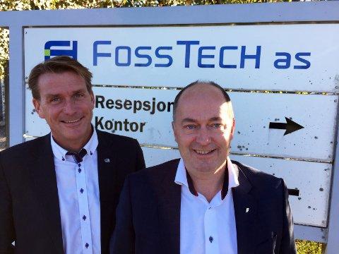 Kårstein Eidem Løvaas (t.v.) og Morten Stordalen er enige: - Det vi kan gjøre for næringslivet er rett og slett det viktigste vi gjør i budsjettet.