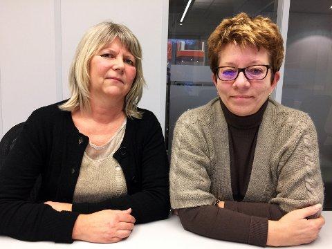 HAR STÅTT SAMMEN: - Inger har vært sterk, sier klubbleder Else Marit Larsen (t.h.). - Jeg hadde ikke klart dette alene, sier Inger Warhuus.