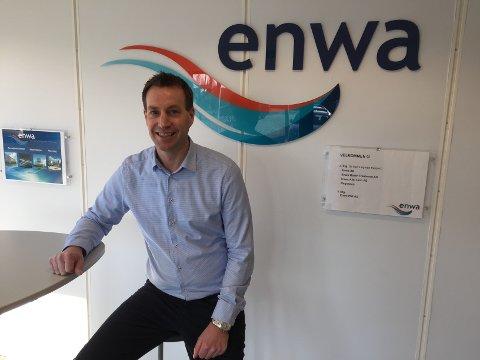 VIL VÆRE BEST: - Vi velger alltid den mest fornuftige løsningen i forhold til energi og klima, sier daglig leder i Enwa PMI, Jørgen Arnesen.