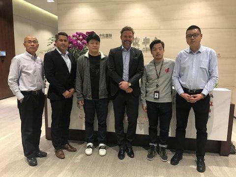 NY STORAVTALE: Bjørn Erik Helgeland og Abax har sikret seg en kontrakt med industrigiganten Sinochem i Kina.
