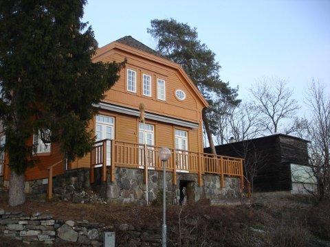 NYE IMPULSER: Villaen til Lars Roede på Nesøya er blant Lilla Hansens aller første norske prosjekter, og brøt med den regjerende sveitserstilen.